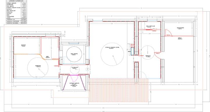 Plano del Proyecto Miengo (Cantabria)  - Modular BTP